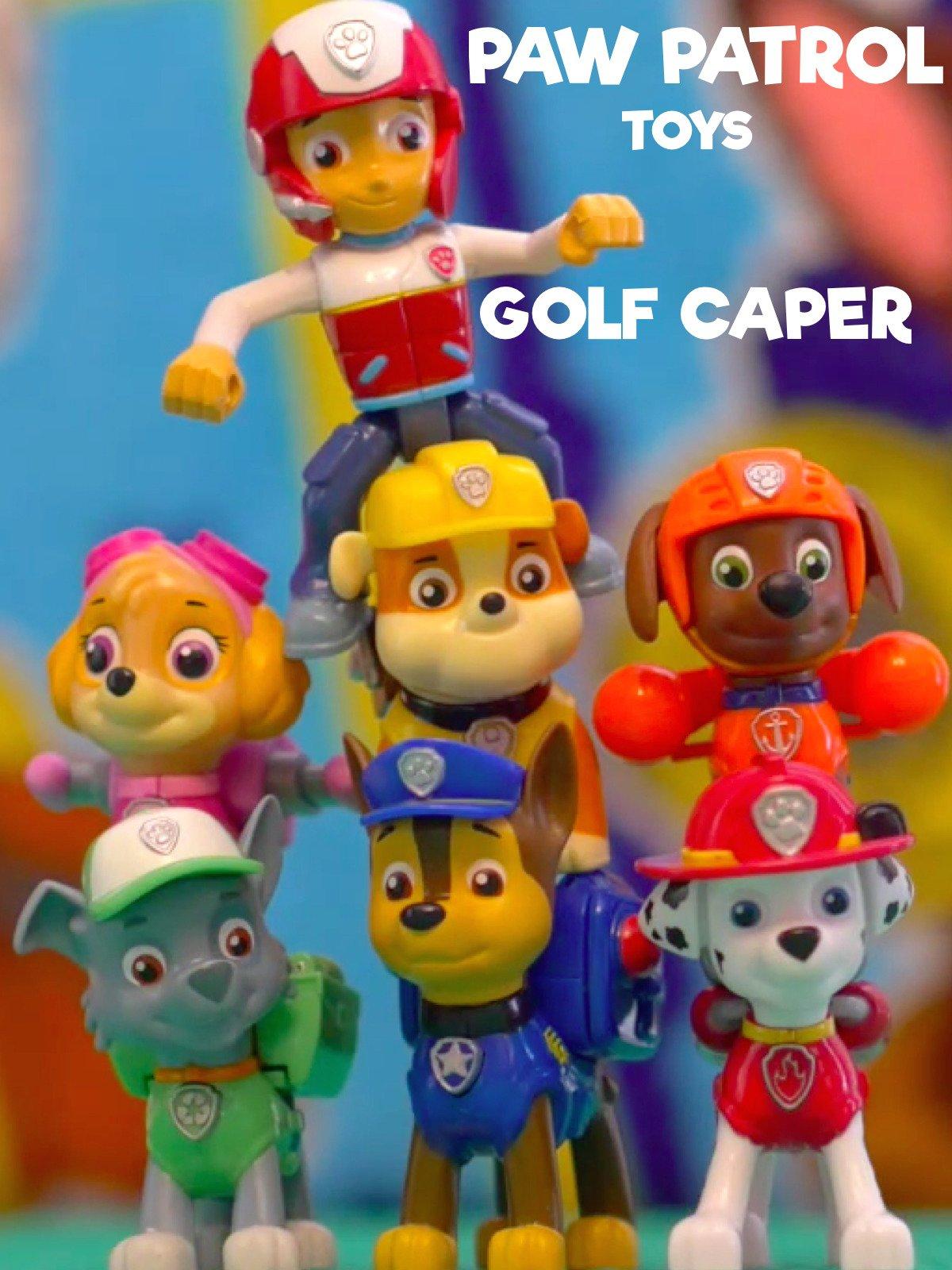 Paw Patrol Toys Golf Caper