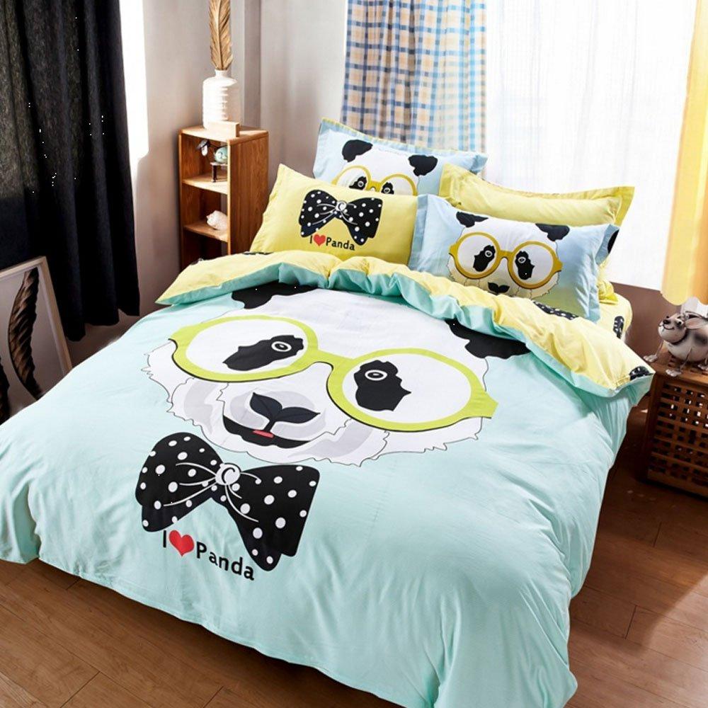Bedding For Teens Kids Cartoon Duvet Cover Set 100 Cotton