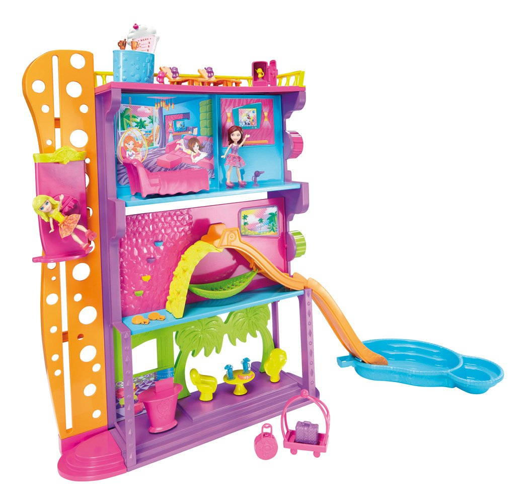 Polly Pocket Spin N Surprise Hotel Playset