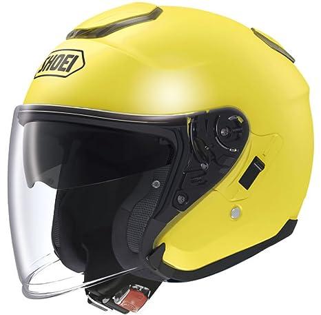 Nouveau Shoei J-croisière jaune moto Scooter casque ouvert
