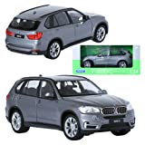 Welly NEX 1:24 BMW X5 Silver Display Mini Car