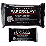 Paper Clay, 8 Ounces, White & Paperclay for Modeling Compound, 4-Ounce (113g), White Bundle Edition (Tamaño: Bundle Edition)
