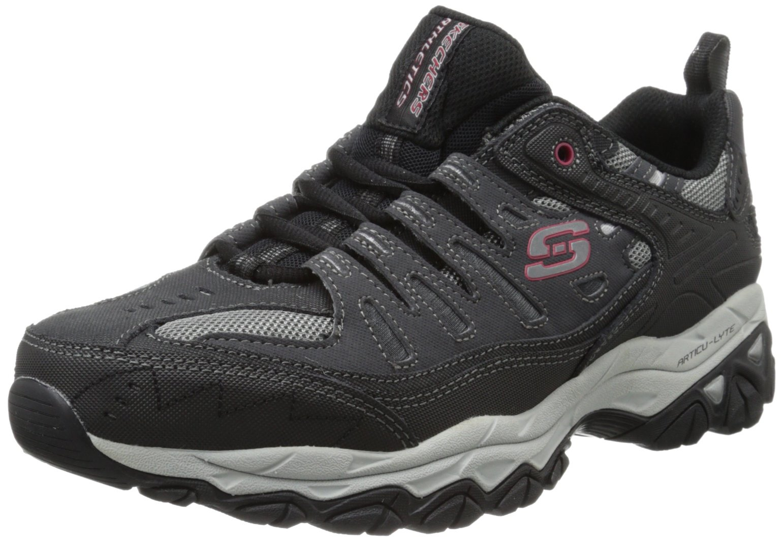 skechers sport men 39 s afterburn memory foam lace up sneaker. Black Bedroom Furniture Sets. Home Design Ideas