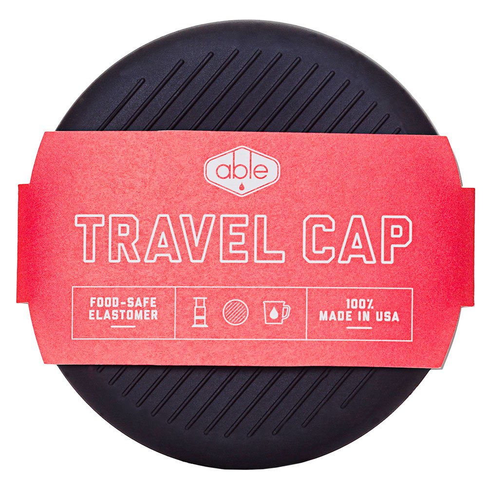 Aeropress Travel Cap with Liquid Planet Coffee Sample