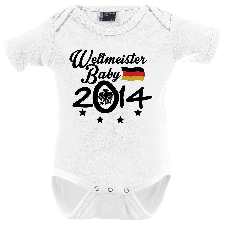 Mikalino Babybody Weltmeister Baby 2014