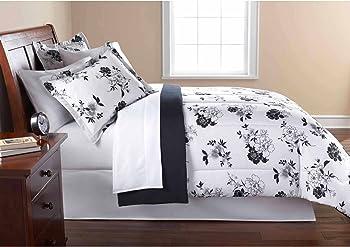 Mainstays Floral Bed in a Bag Bedding Comforter Set