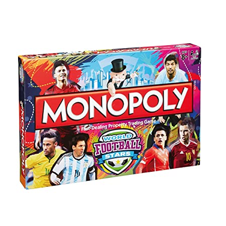 Monopoly - World Football Stars Board Game