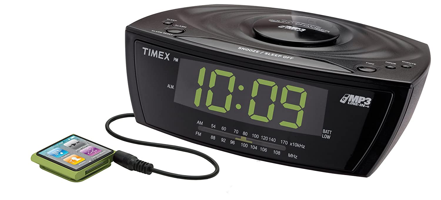 best options for a clock radio with headphone jack. Black Bedroom Furniture Sets. Home Design Ideas