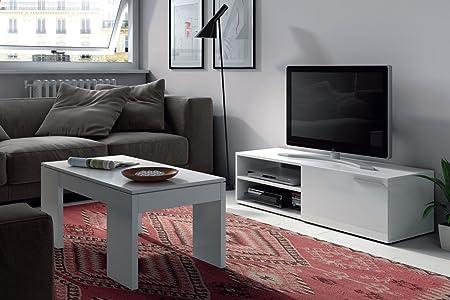 CONJUNTO MESA DE CENTRO ELEVABLE + MODULO TV