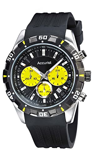 Accurist MS970BB Quartz Mens Watch