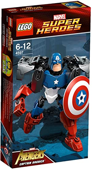 Lego Super Heroes - 4597 - Jeu de Construction - Captain America