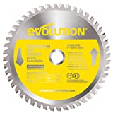Evolution Power Tools 180BLADESS Stainless Steel Cutting Saw Blade, 7-Inch x 48-Tooth (Color: Yellow, Tamaño: 7 Inch)