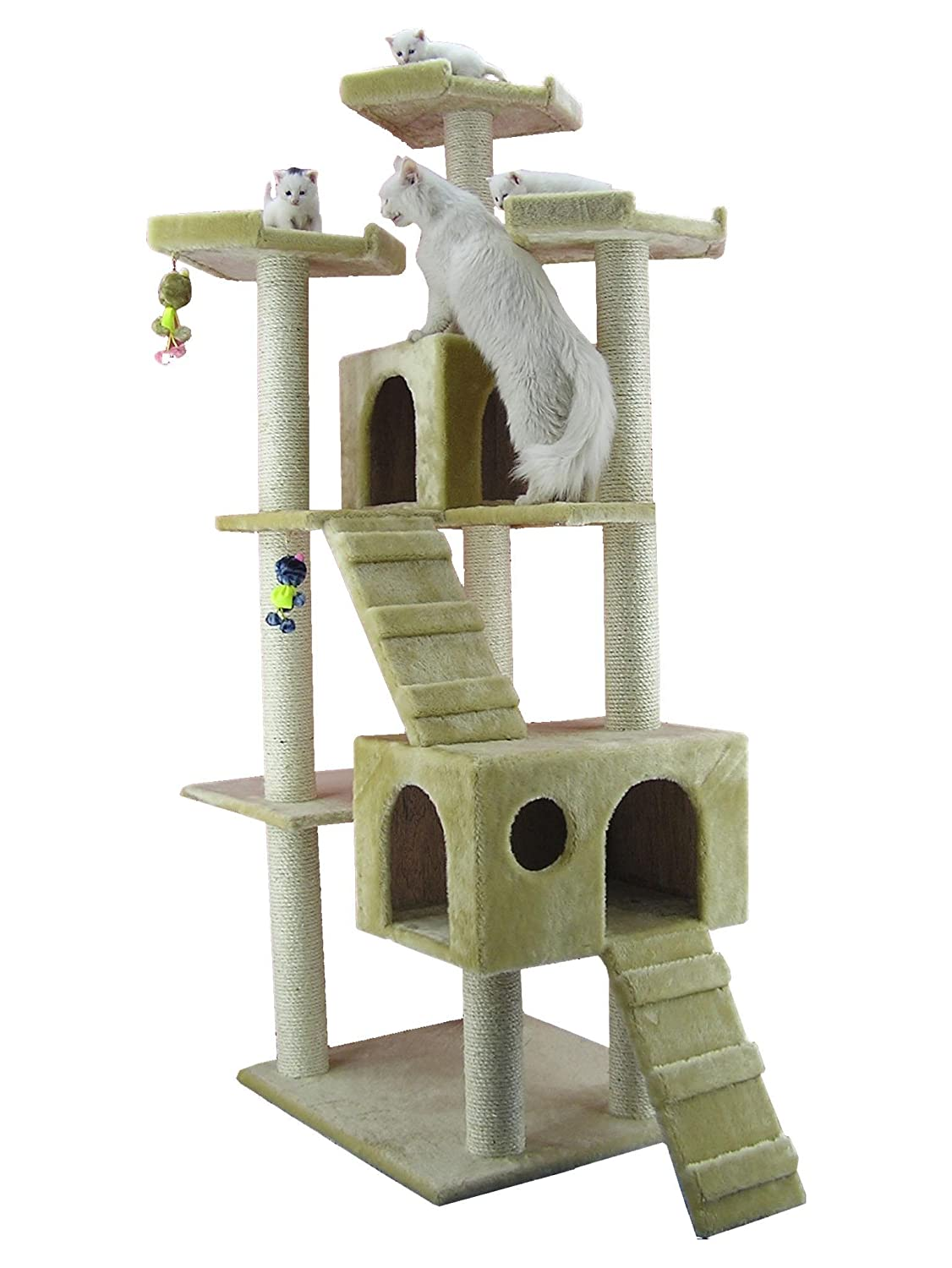 Cat trees for large cats Christmas tree cat tower