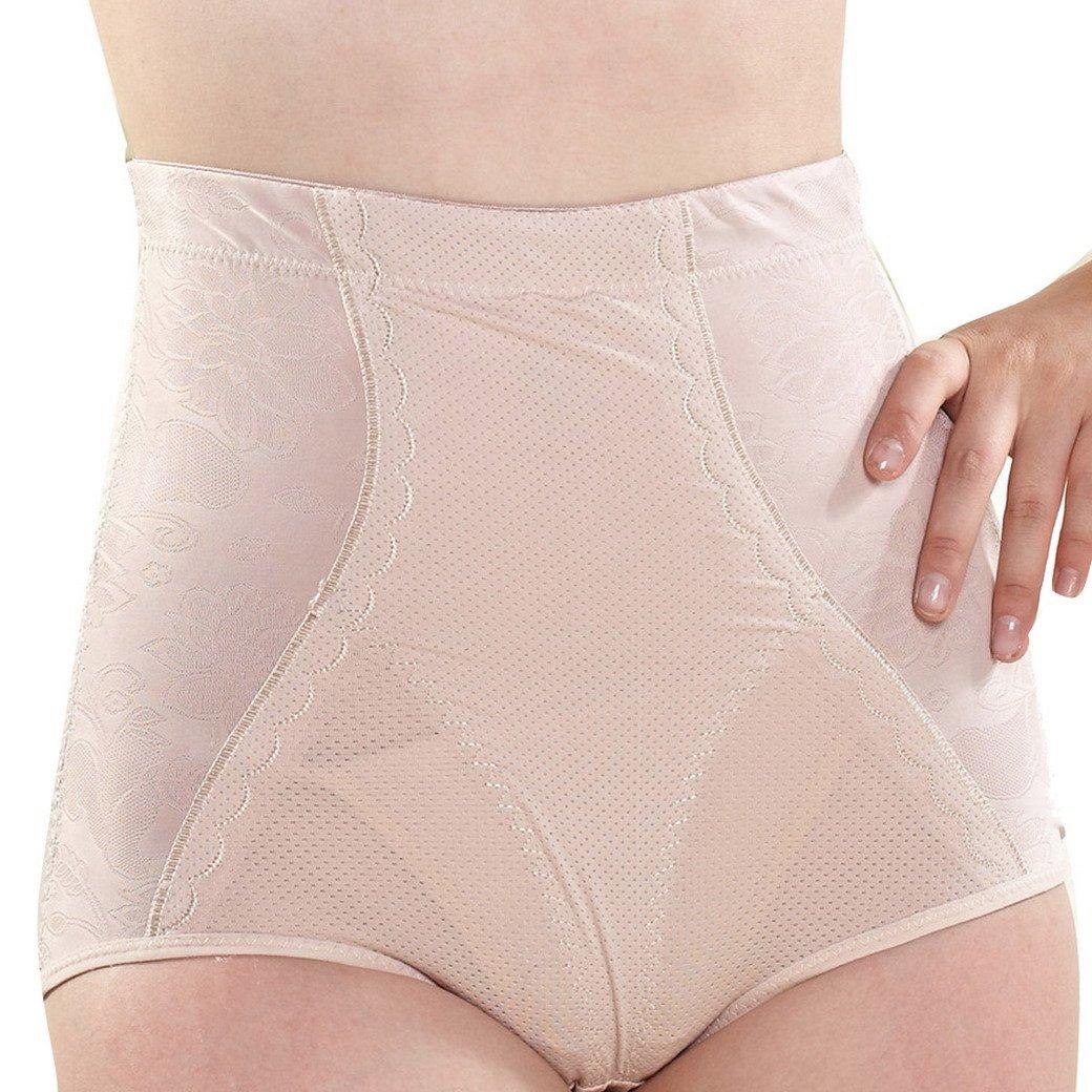 Tangda Damen Frauen Miederhose Seamless Shapewear mit Hoher Taille Bauchweg Bodyshaper Taillenslip Größe XXL – Fleshcolor günstig
