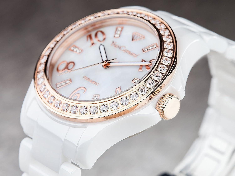ceas roz auriu 5