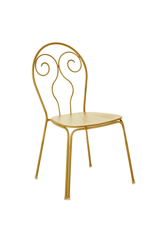 Emu 309306800 Caprera Stuhl 930, pulverbeschichteter Stahl, 4-er Set, orange jetzt kaufen