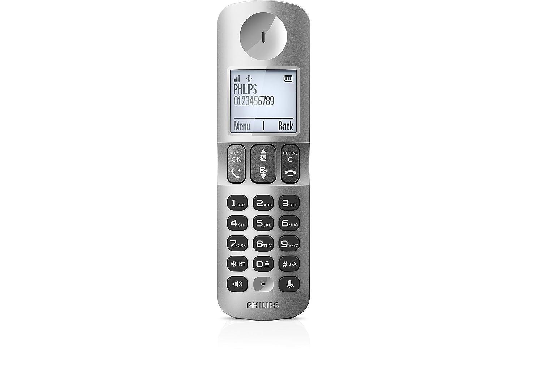 T�l�phone fixe PHILIPS D4053W BLANC TRIO AVEC REPONDEUR