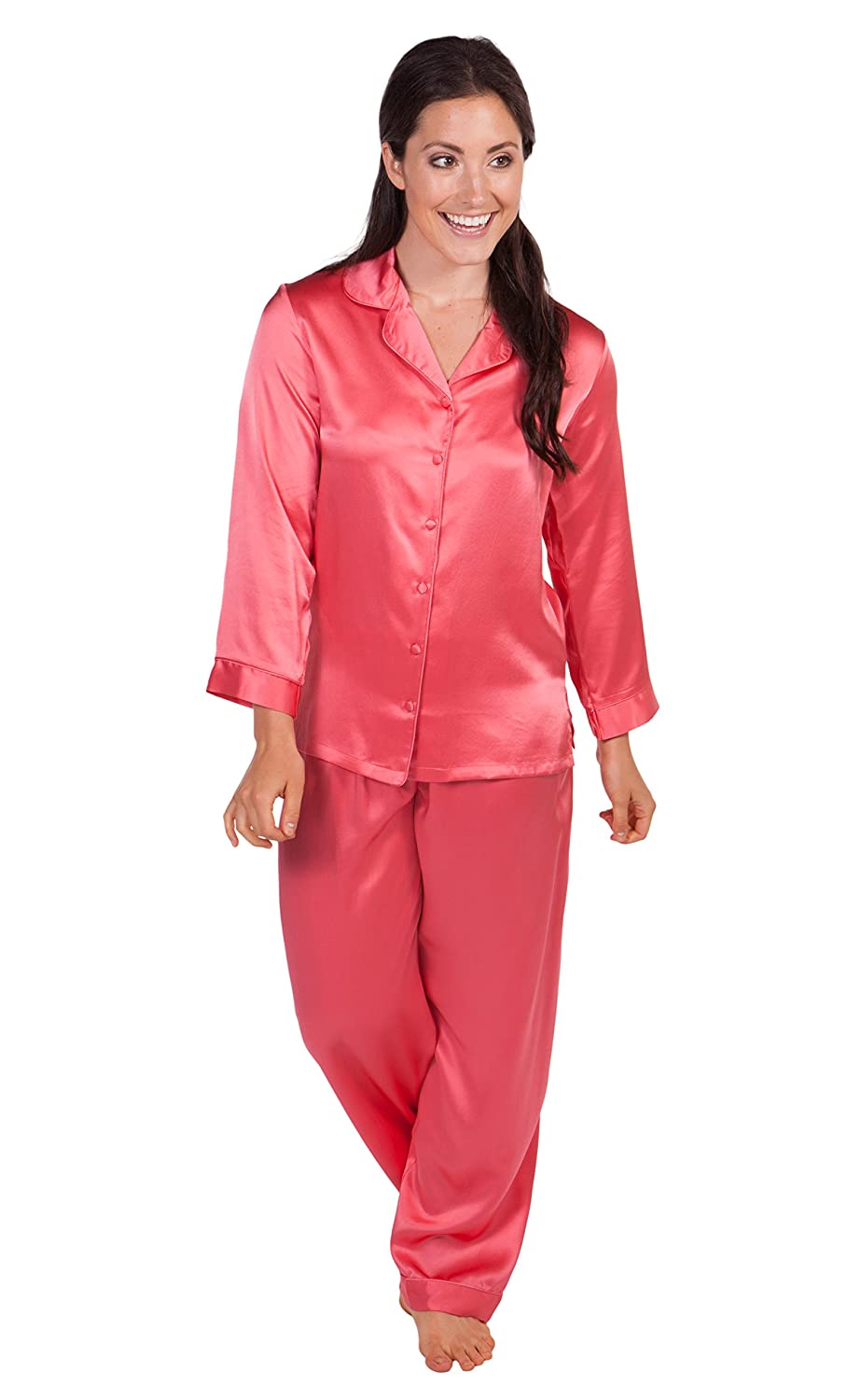 From cotton pajamas to luxurious silk pajamas for women, Julianna Rae's collection of designer pajamas are the perfect way to end a long day without sacrificing style or comfort. Choose from cotton sleepshirts, cotton or silk PJ sets, and silk sleepshirts, all with just the .