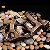 2 PCS Compass Brass Tattoo Machine Straight Shader Circle Liner