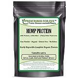 Hemp Protein - 50% Protein/30% Fiber - A Complete Protein Powder - ING: Organic, 10 kg (Tamaño: 10 kg (22 lb))