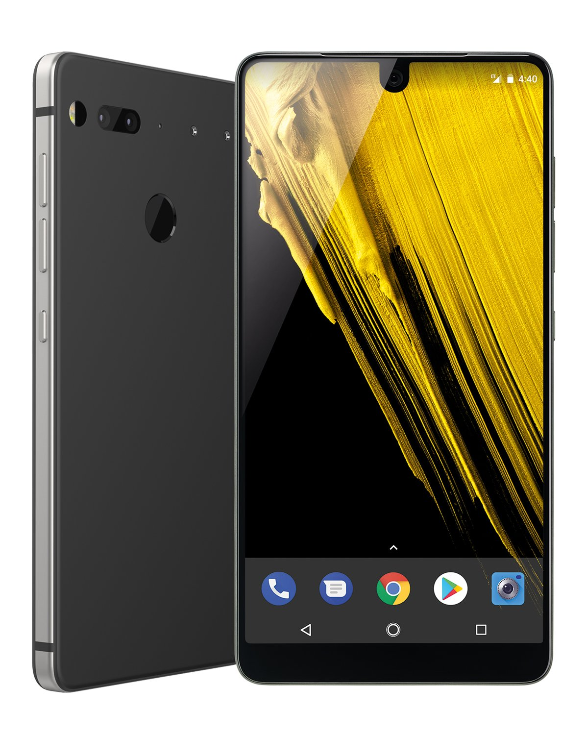 Essential Gray Phone