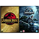 Jurassic Park 1, 2, 3 and 4 Complete DVD Collection : Jurassic Park / The Lost World - Jurassic Park / Jurassic...