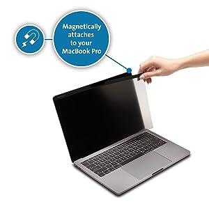 Kensington MP15 MacBook Pro Magnetic Privacy Screen for 15 2016/17/18/19 MacBook Pro (K64491WW) (Tamaño: MacBook Pro 15 inch)