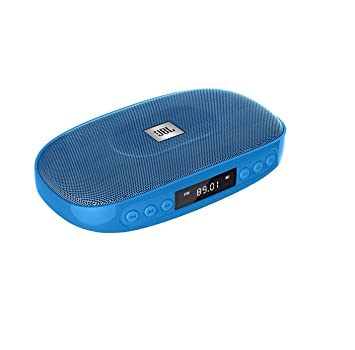 JBL Tune (BLUE) Wireless Bluetooth Speaker with SD Card reader / FM and built-in microphone at amazon