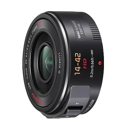 Panasonic H-PS14042E-K Objectif 14-42 mm F3.5-5.6 pour Appareil photo Lumix G