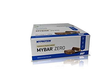MYPROTEIN - MY BAR Zero - Cookies & Cream - 12 x 65g (780g)