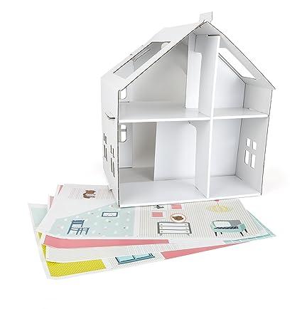 Tektorado - 10761 - Maison de Poupée en Carton à Coller
