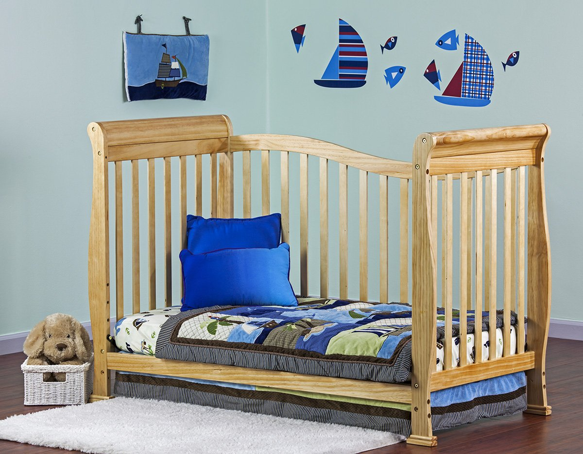 7 in 1 convertible life style baby crib toddler bed bedding furniture cribs kids ebay. Black Bedroom Furniture Sets. Home Design Ideas