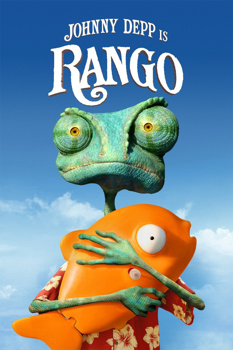 RANGO on Amazon Prime Instant Video UK