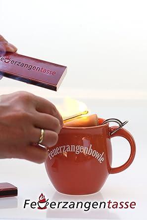 Offizielle Website Feuerzangentassen Geschenkidee Feuerzangenbowle Terrakotta Set Möbel & Wohnen