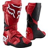 Fox Racing 180 Men's Off-Road Motorcycle Boots - Red/10 (Color: Red, Tamaño: 10)