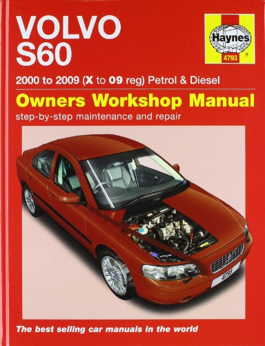 Volvo S60 Petrol and Diesel Service and Repair Manual: 2000 to 2009 (Haynes Service and Repair Manuals) (Volvo S60 Owners Manual compare prices)