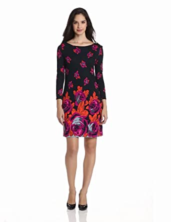 Juicy Couture Women's Romantic Rose Dress, Regal Romantic, X-SMALL