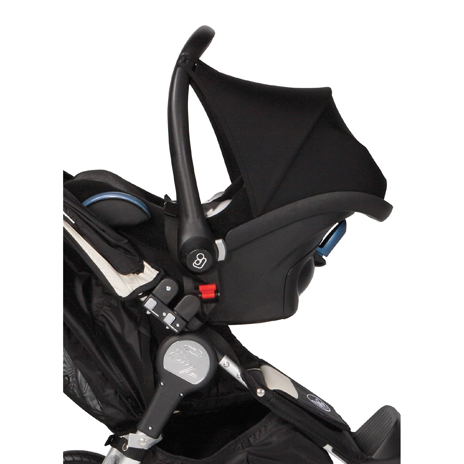 baby jogger single car seat adaptor j7180 new free shipping ebay. Black Bedroom Furniture Sets. Home Design Ideas