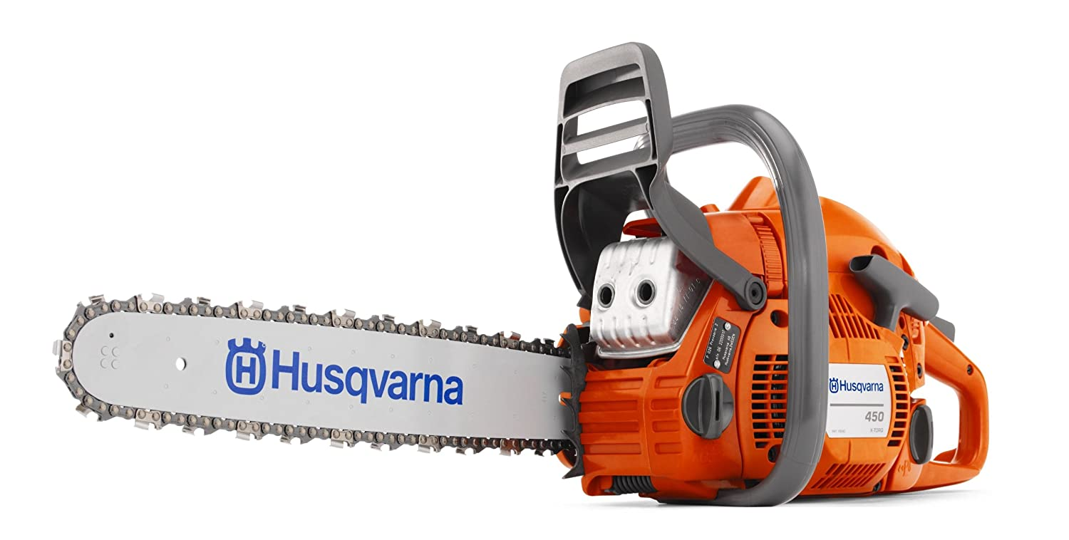 Husqvarna 450 Gas Powered Chain Saw