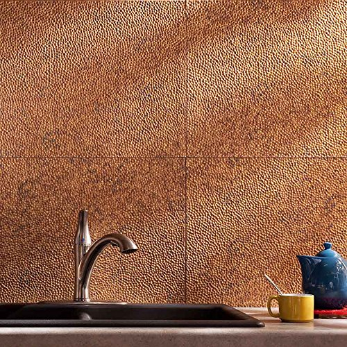 fasade easy installation hammered cracked copper