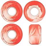 Ricta Skateboard Cruiser Wheels Clouds Swirl 78A Red/White 52mm 78A