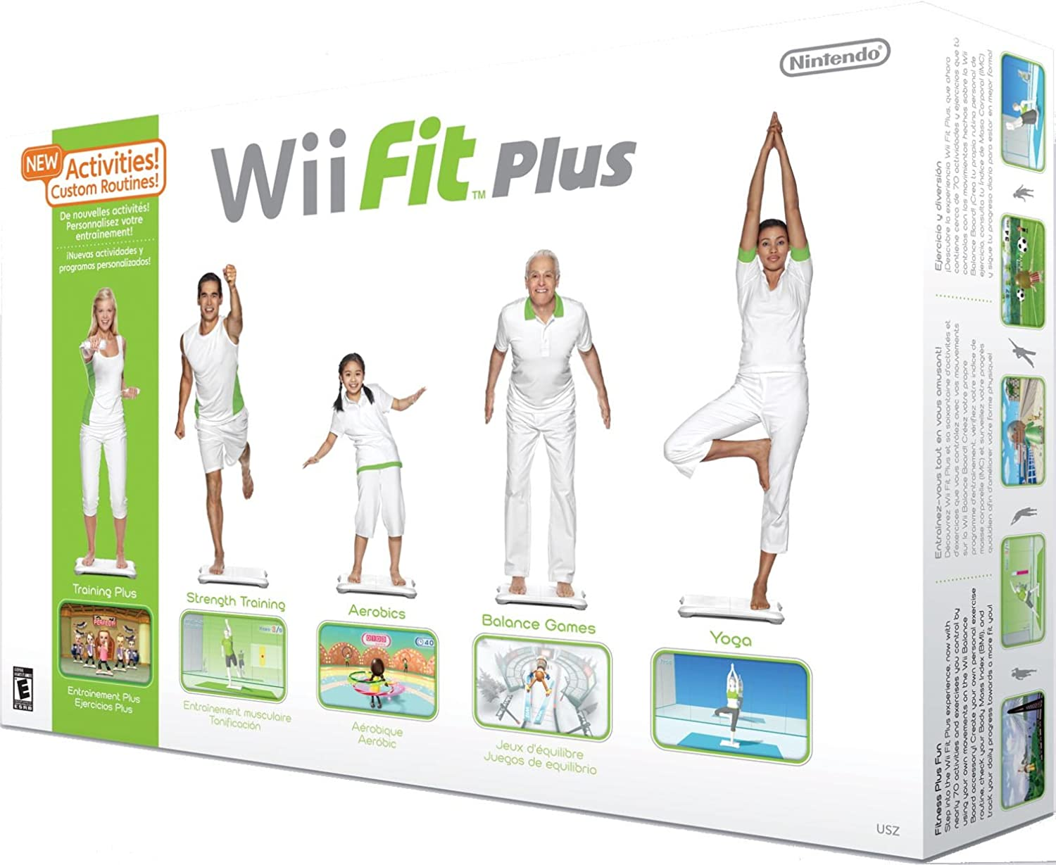 wii fit plus with balance board review should you buy this fitness game. Black Bedroom Furniture Sets. Home Design Ideas