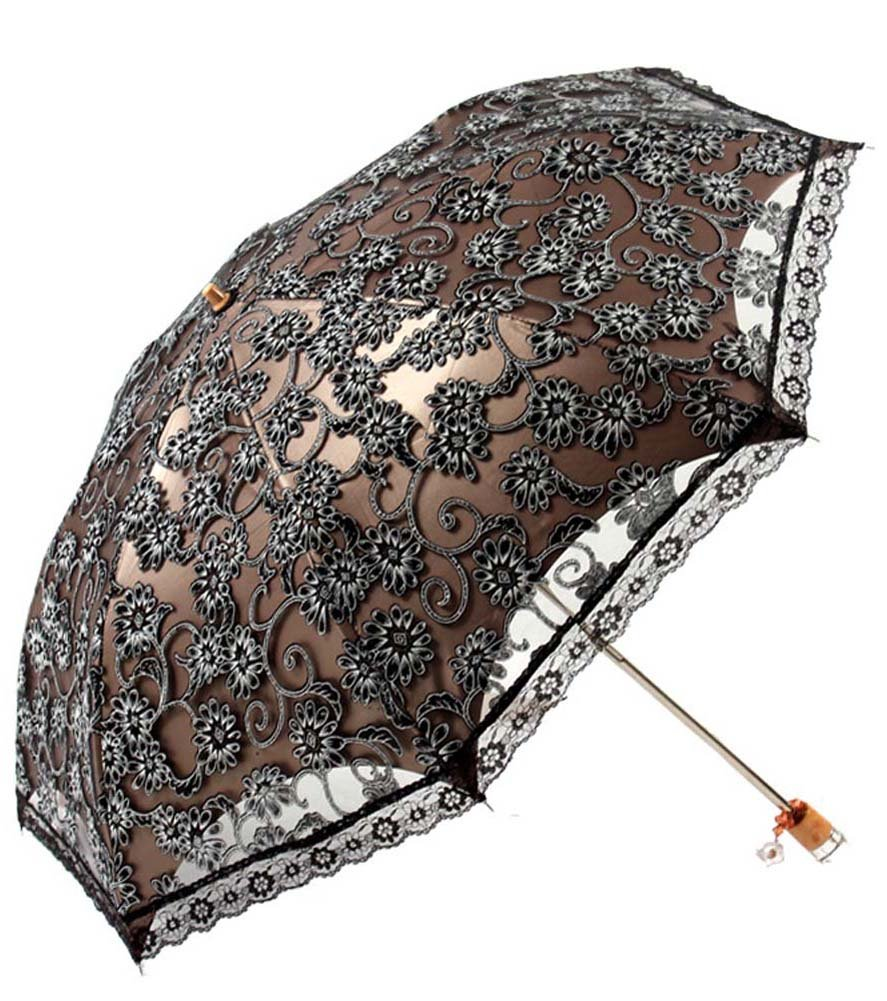 Vintage Style Parasols and Umbrellas Fashion Lace Umbrella - Sun Protective                               $15.48 AT vintagedancer.com