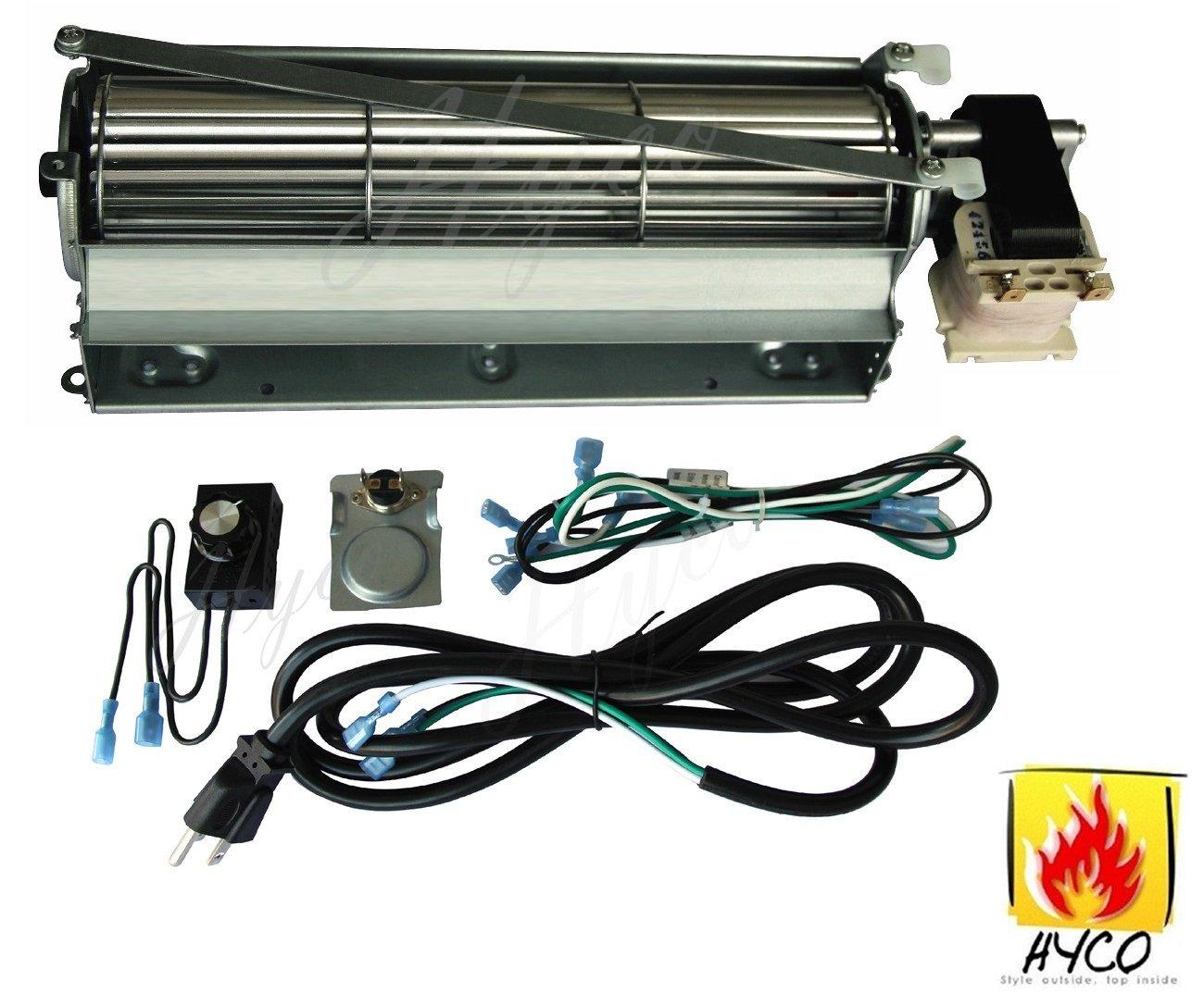 Gfk4 Gfk 4 Fireplace Blower Fan Kit Heatilator Majestic Ebay