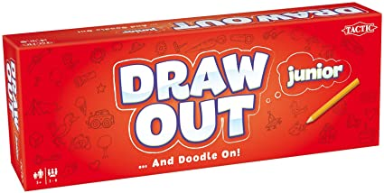 Draw Out Junior - Jeux de Société (Import Grande Bretagne)