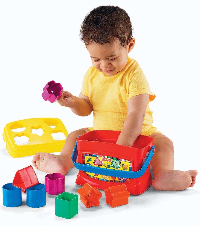Fisher-Price Brilliant Basics Baby's First Blocks:   Briliant Basics Baby Christmas Gift