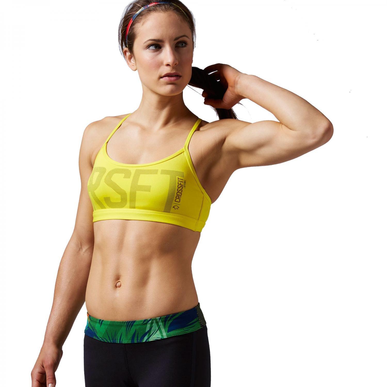 Reebok Damen Sport BH CrossFit Skinny Bra Graphic kaufen