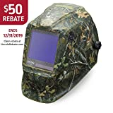Lincoln Electric VIKING 3350 White Tail Camo Welding Helmet with 4C Lens Technology - K4412-3 (Color: Green)