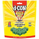 d-CON Refillable Corner Fit Mouse Poison Bait Station, 1 Trap + 6 Bait Refills (Color: sss, Tamaño: 6 Count)