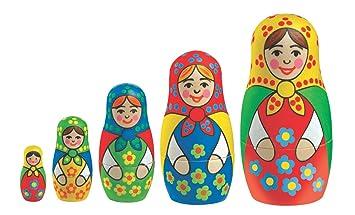 Oz International - KAD0925 - Loisir Créatif - Poupée Russe à Peindre